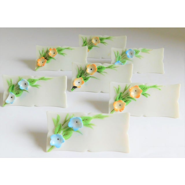 It's Wedding Season, and this charming set of twenty-four vintage floral porcelain name holders would be PERFECT for...