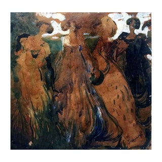 """""""Four Women"""" Painting For Sale"""