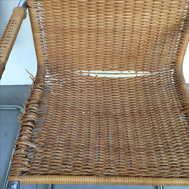 Metal Mies Van Der Rohe Mr Chrome Armless Chair For Sale - Image 7 of 9
