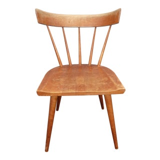 Vintage Mid Century Modern Paul McCobb Planner Group Chair W Spindle Backrest #1 For Sale
