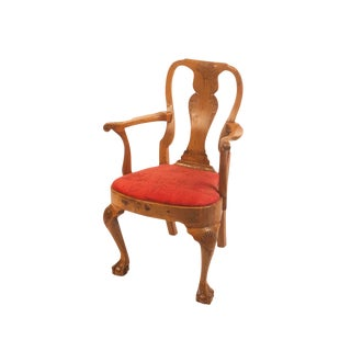 Mid 18th Century Georgian Irish Armchair For Sale