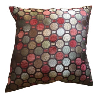 Geometric Throw Pillow For Sale