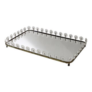 ESTRID ERICSON Mirror Tray, Svenskt Tenn Sweden, ca 1950 For Sale
