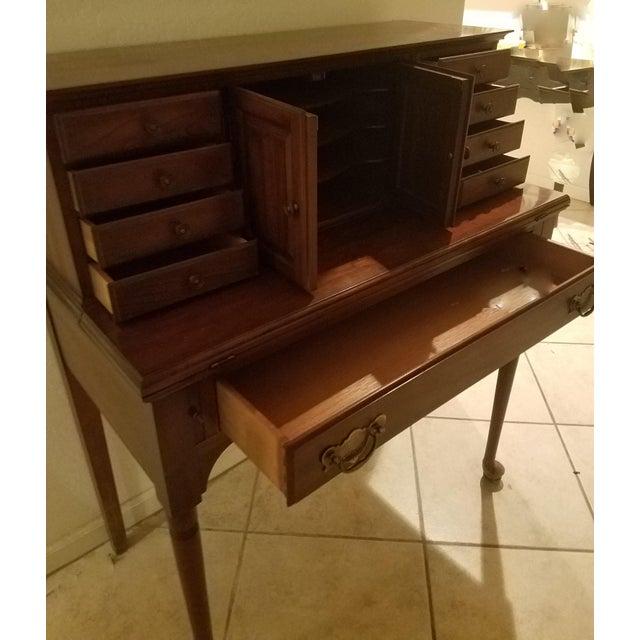 English 1960s Pennsylvania House Secretary Desk For Sale - Image 3 of 13