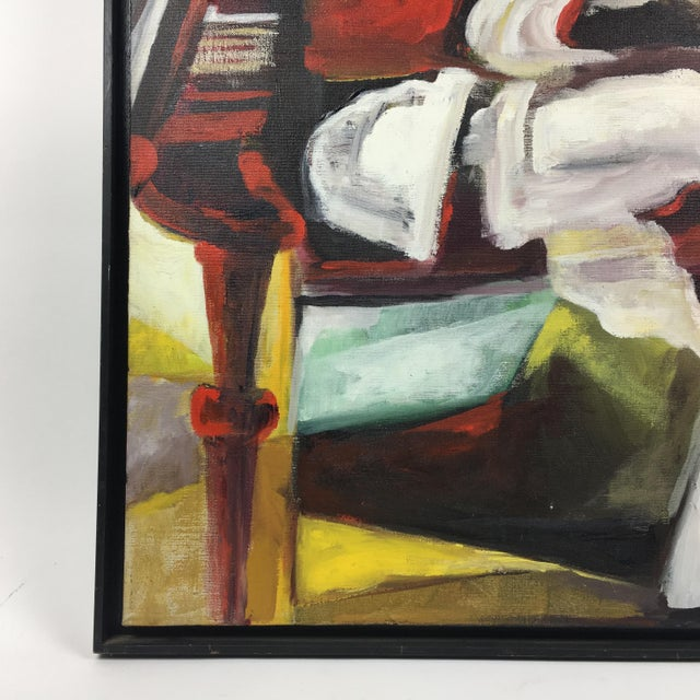 Deon Robertson Framed Still Life Oil on Canvas Painting - Image 6 of 7