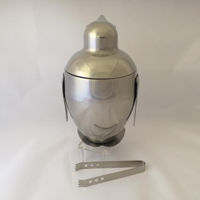 Mid-Century Style Penguin Ice Bucket and Tongs - A Pair For Sale - Image 5 of 8