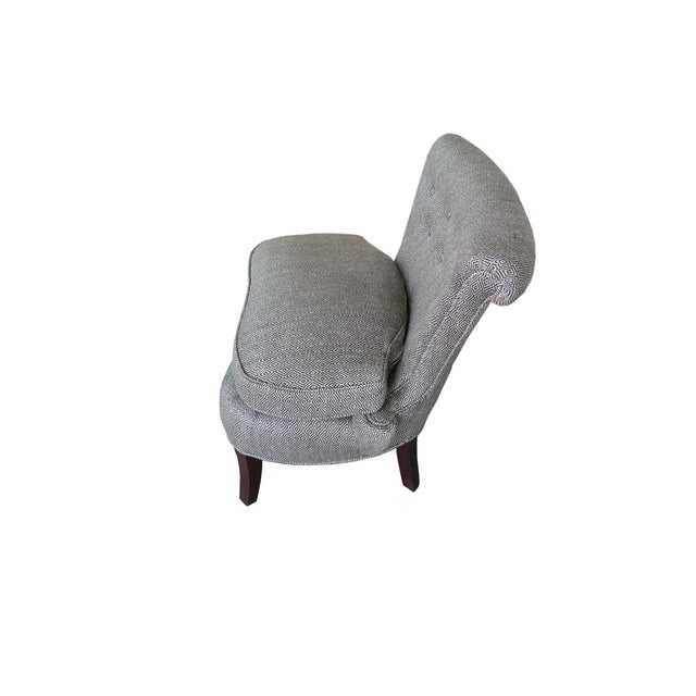 1940s Dorothy Draper Slipper Chair For Sale - Image 5 of 11