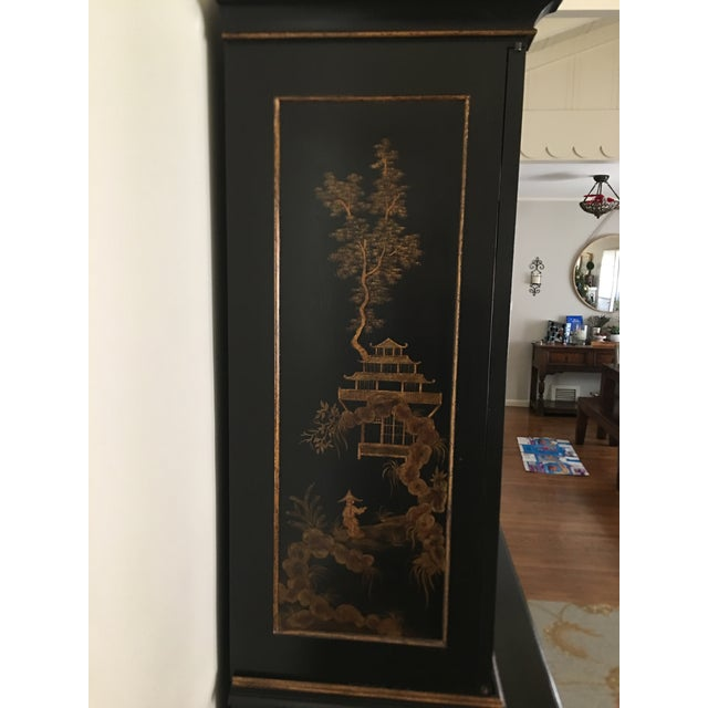 John Hall Designs Chinese Chippendale Cupboard For Sale - Image 9 of 11