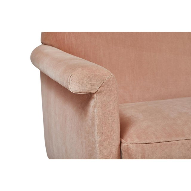 Mid-Century Modern Italian Style Loveseat by Martin and Brockett For Sale In Los Angeles - Image 6 of 8