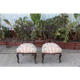 Early 1900's Italian Low Chairs- A Pair Preview