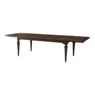 French Provincial Extension Dining Table For Sale
