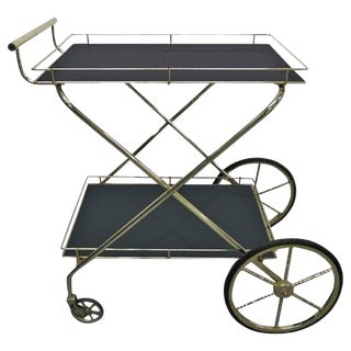 Two-Tier Bar Cart For Sale