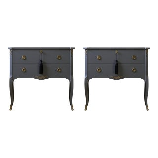 Gustavian Louis XV Style Chests - a Pair For Sale