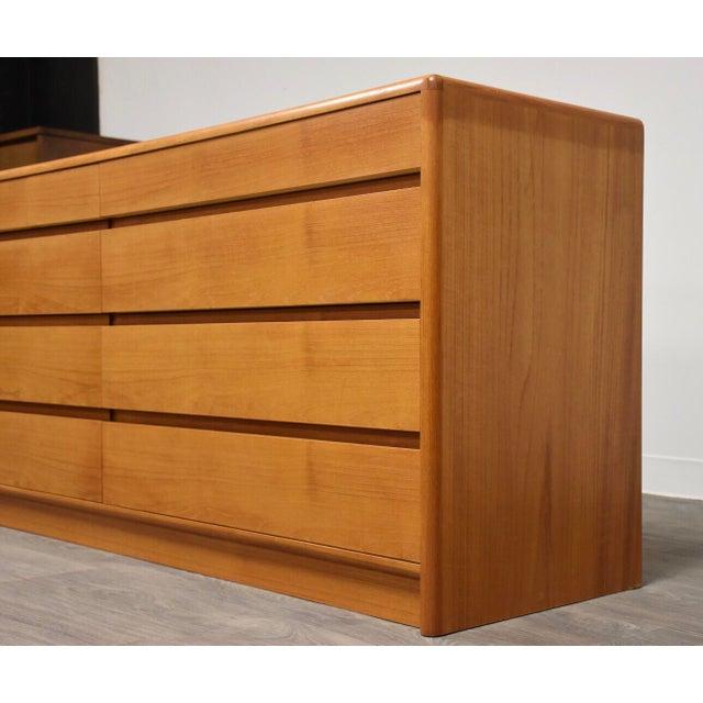 Danish Modern Danish Modern Teak Dresser by Nordisk Andels-Eksport For Sale - Image 3 of 12