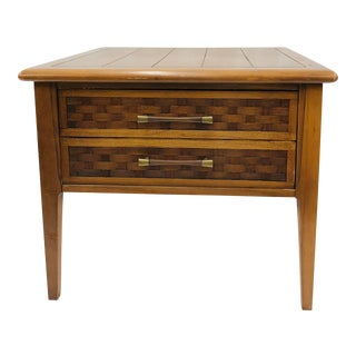 Vintage Mid Century Side Table For Sale