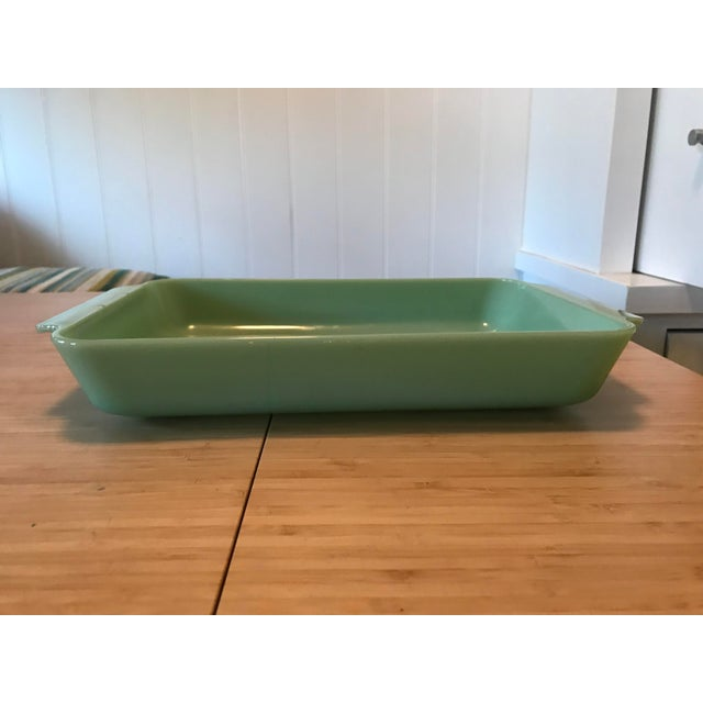 """Anchor Hocking Fire King 2000 9"""" x 13"""" Jadeite Casserole Baking Dish. One of the most arguably collectible items from Fire..."""