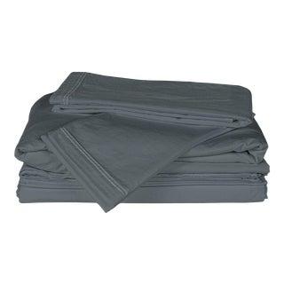 Matteo Sei Coal King Sheet Set - 4 Pieces For Sale