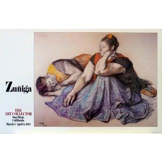 Zuniga Latin Mexico Chicano Oversize Original Poster For Sale