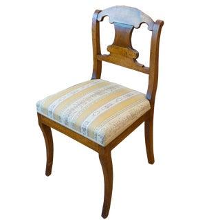 Single Biedermeier Chair For Sale
