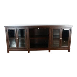 Transitional Bassett Furniture TV Stand For Sale