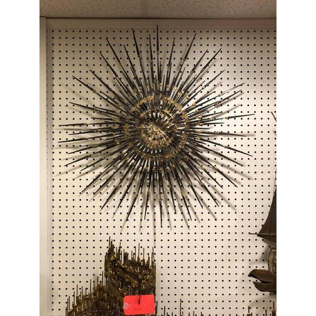 1960s Mid-Century Modern Starburst Sculpture For Sale - Image 4 of 11