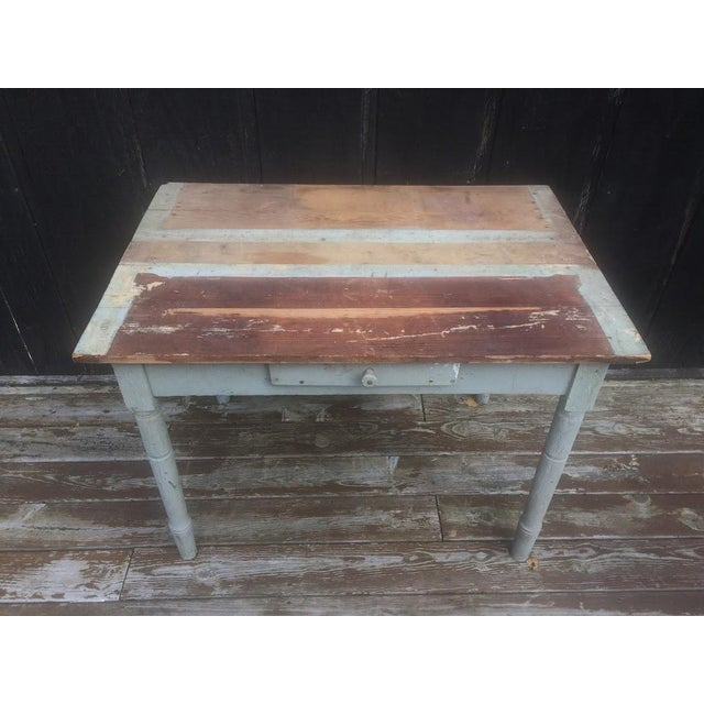 Distressed Farm Table For Sale - Image 4 of 9