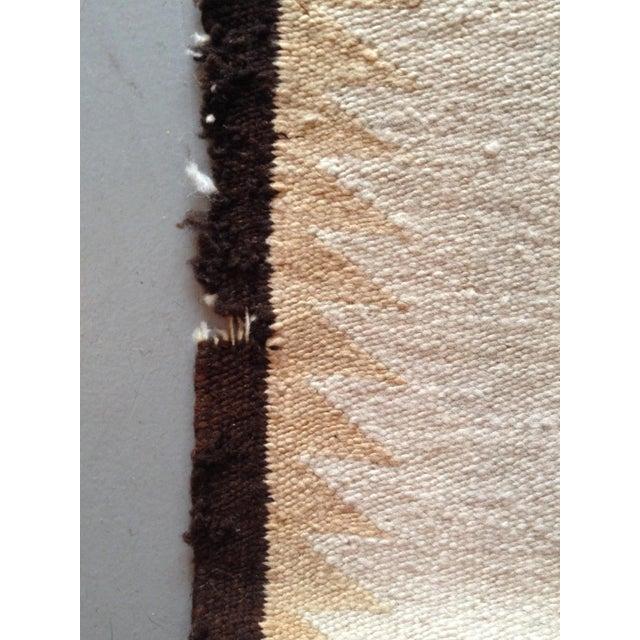 """Vintage Navajo Rug - 3'1"""" x 5'2"""" - Image 6 of 6"""