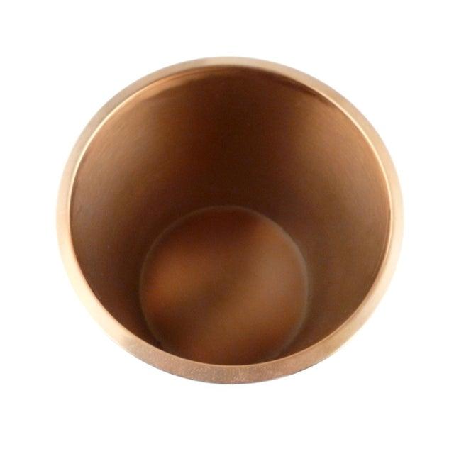 Decorative Capiz Shell & Metal Wastebasket For Sale - Image 5 of 9