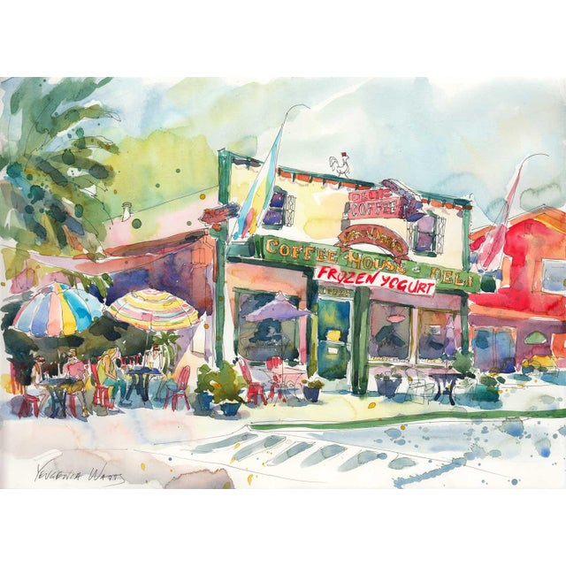 After the Run - Fair Oaks Deli Watercolor Painting - Image 3 of 3