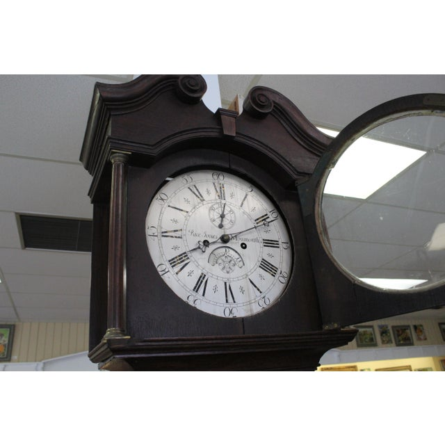 Traditional Pace Jones Mommouth Grandfather Clock For Sale - Image 3 of 8
