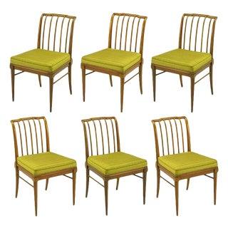 Six J. Stuart Clingman Dining Chairs by John Widdicomb For Sale