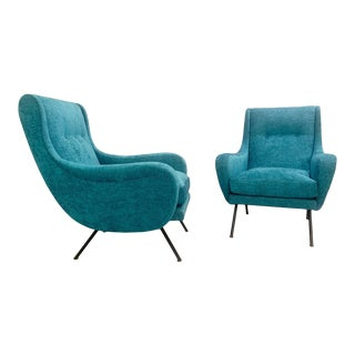 1950s Italian Armchairs- A Pair For Sale