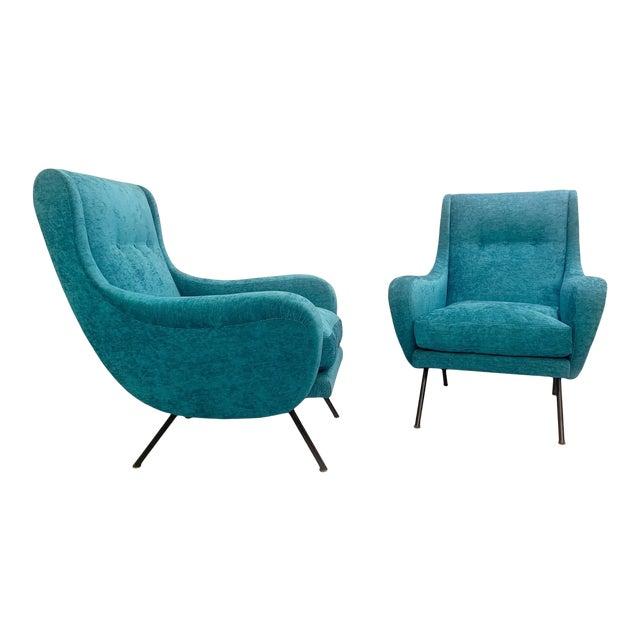 1950s Italian Armchairs- A Pair For Sale