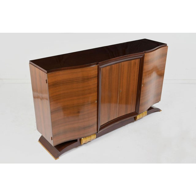 Traditional French Art Deco Buffet For Sale - Image 4 of 9