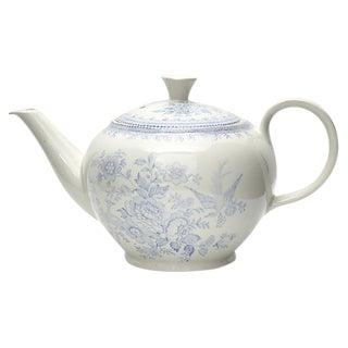 Antique English Asiatic Pheasant Tea Pot For Sale