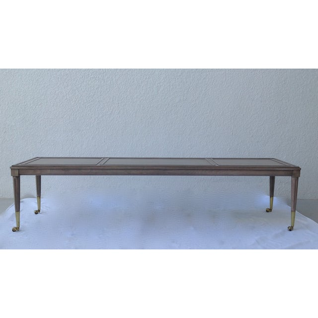 Italian Hollywood Regency Long Cocktail Table - Image 2 of 11
