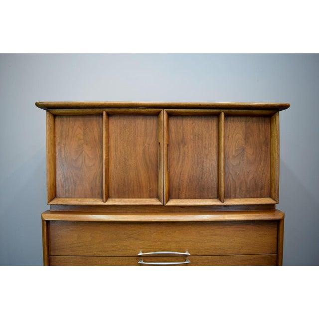 On Hold - Kent Coffey Walnut Highboy Dresser - Image 4 of 11