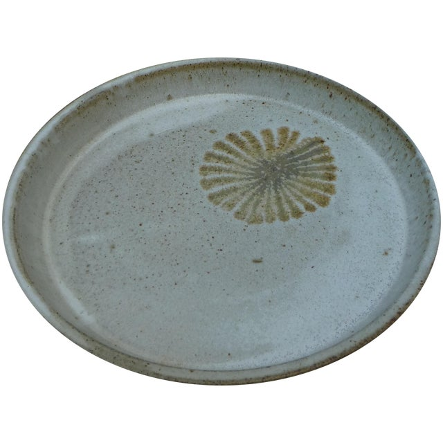 Mid-Century Studio Pottery Platter - Image 1 of 6