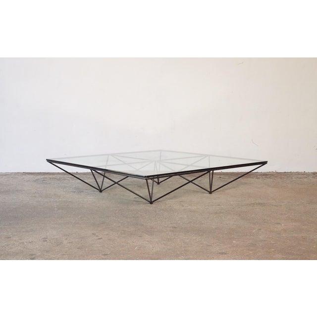 Paolo Piva Alanda Geometric Glass Coffee Table for B&b Italia, 1980s, Italy For Sale - Image 13 of 13