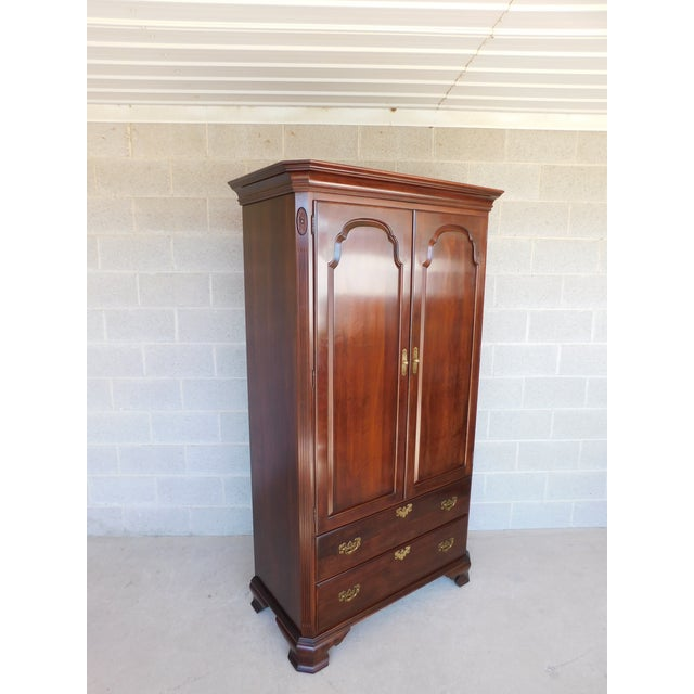 Features Sturdy Construction, 4 Dovetailed Drawers, Interior Shelves Very Good Condition,original finish, , may show...