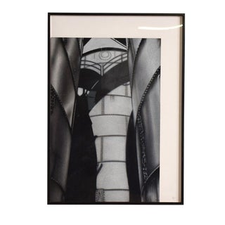 Modern Abstract Architectural Black & White Photo Signed Jeanine Stern For Sale