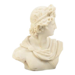 Empire Style Resin Sculpture of Apollo For Sale