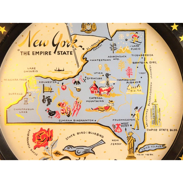 1950s Vintage New York Souvenir Tray For Sale - Image 5 of 11