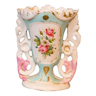 Vintage Floral Pretty Vase
