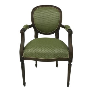 Traditional Century Furniture Louis XVI Arm Chair For Sale