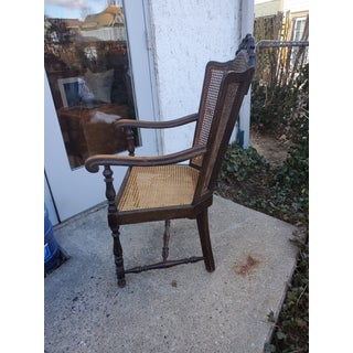 1960s Vintage Cane Arm Chair Preview