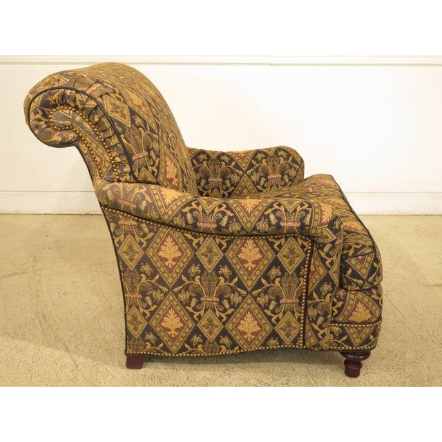 Hancock & Moore Tarleton Upholstered Chair & Ottoman - a Pair For Sale In Philadelphia - Image 6 of 13