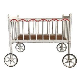Vintage Children's Toy Crib For Sale