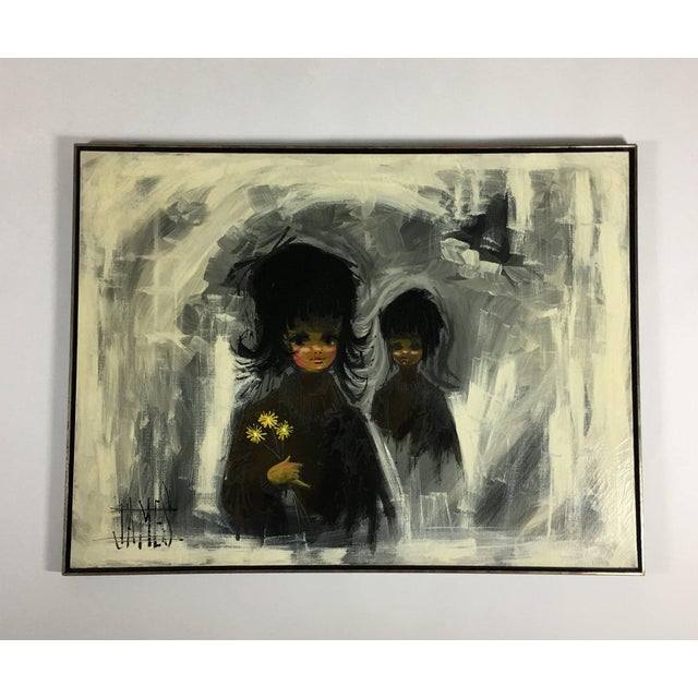 1960s Vintage Turner Mfg. Company Reproduction Painting For Sale - Image 11 of 11