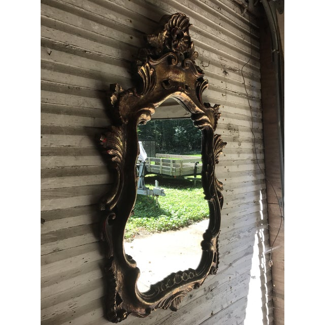 Vintage French Rococo Style Mirror - Image 2 of 10